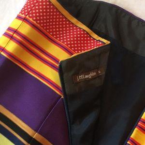 J.McLaughlin Ribbon strapless dress . Size 6